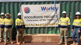 Contractor of the Month at Koodaideri